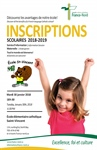 Informations et inscriptions à la maternelle 2018 / Information and registration for 2018-2019